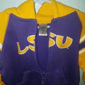 Other - LSU 👶 Hoodie Toddler Zip Up Sweatshirt